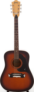 Musical Instruments:Acoustic Guitars, 1960s Framus Texan Natural Acoustic Guitar, Serial # 000001. ...