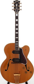 Musical Instruments:Electric Guitars, 1955 Gibson Byrdland Natural Semi-Hollow Body Electric Guitar,Serial # W19264....