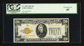 Small Size:Gold Certificates, Fr. 2402 $20 1928 Gold Certificate. PCGS Extremely Fine 45.. ...
