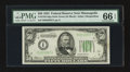 Small Size:Federal Reserve Notes, Fr. 2102-I $50 1934 Federal Reserve Note. PMG Gem Uncirculated 66 EPQ.. ...