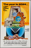 "Movie Posters:Science Fiction, A Boy and His Dog (Aquarius Releasing, 1975). One Sheet (27"" X 41""). Science Fiction.. ..."