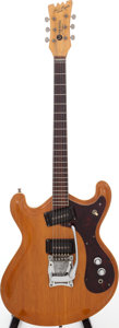 Musical Instruments:Electric Guitars, Circa 1966 Mosrite Joe Maphis Natural Solid Body Electric Guitar,Serial # D178....