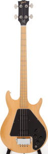 Musical Instruments:Bass Guitars, 1976 Gibson Ripper Natural Electric Bass Guitar, Serial # 430508....
