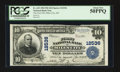 National Bank Notes:Montana, Miles City, MT - $10 1902 Plain Back Fr. 635 The First NB Ch. # 12536. ...