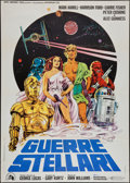 "Movie Posters:Science Fiction, Star Wars (20th Century Fox, 1977). Italian 2 - Foglio (39"" X 55"").Science Fiction.. ..."