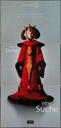 "Movie Posters:Science Fiction, Star Wars: Episode I - The Phantom Menace (20th Century Fox, 1999).German Door Panel (47"" X 99.5"") Advance Queen Amidala St..."