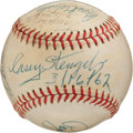 Autographs:Baseballs, 1962 New York Mets Spring Training Signed Baseball....