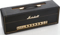 Musical Instruments:Amplifiers, PA, & Effects, 1969 Marshall Super Lead Black Guitar Amplifier Head, Serial #SL/A10476....