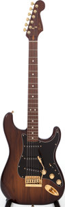 Musical Instruments:Electric Guitars, 1982 Fender The Strat Walnut Solid Body Electric Guitar, Serial #CC11347....