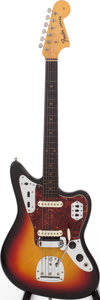 Musical Instruments:Electric Guitars, 1963 Fender Jaguar Sunburst Solid Body Electric Guitar, Serial # L17164....