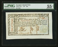 Colonial Notes:Georgia, Georgia May 4, 1778 $20 PMG About Uncirculated 55 Net.. ...