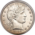 Barber Quarters, 1896-O 25C MS65 NGC....