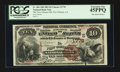 National Bank Notes:Louisiana, New Orleans, LA - $10 1882 Brown Back Fr. 484 The New Orleans NBCh. # (S)1778. ...
