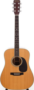 Musical Instruments:Acoustic Guitars, 1969 Martin D-35 Natural Acoustic Guitar, Serial # 245097....