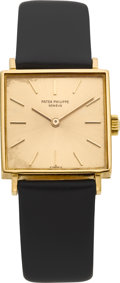 Timepieces:Wristwatch, Patek Philippe & Co. Gent's Ref. 3430 Gold Wristwatch, circa 1970. ...