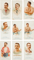 """Baseball Cards:Sets, 1887 N28 Allen & Ginter """"World's Champions"""" Partial Set (24/50). ..."""