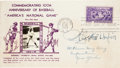 Autographs:Others, 1939 Bill Klem Signed Baseball Hall of Fame First Day Cover....