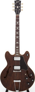 Musical Instruments:Electric Guitars, 1970 Gibson ES-150D Walnut Archtop Electric Guitar, Serial #102303....