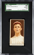 Baseball Cards:Singles (Pre-1930), 1912 T207 Brown Background Louis Lowdermilk SGC 55 VG/EX+ 4.5. ...