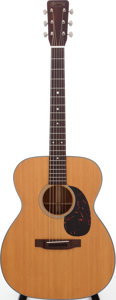 Musical Instruments:Acoustic Guitars, 1967 Martin 000-18 Natural Acoustic Guitar, Serial # 220338....