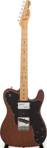 Musical Instruments:Electric Guitars, 1978 Fender Telecaster Custom Mocha Solid Body Electric Guitar,Serial # S814990....
