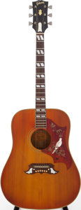 Musical Instruments:Acoustic Guitars, Late 1960s Gibson Dove Sunburst Acoustic Guitar, Serial #857256....