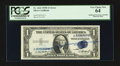 Error Notes:Doubled Third Printing, Fr. 1614 $1 1935E Silver Certificate. PCGS Very Choice New 64.. ...