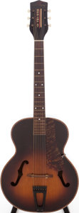 Musical Instruments:Acoustic Guitars, Circa 1950 Harmony Broadway Sunburst Archtop Acoustic Guitar,Serial # 095H954....