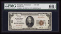 National Bank Notes:Tennessee, Memphis, TN - $20 1929 Ty. 1 The First NB Ch. # 336. ...