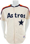 Baseball Collectibles:Uniforms, 1991 Jeff Bagwell Game Worn Houston Astros Rookie Jersey. ...