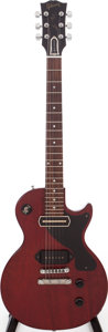 Musical Instruments:Electric Guitars, 2007 Gibson John Lennon Les Paul Junior Cherry Solid Body ElectricGuitar, Serial # LENNON 162....