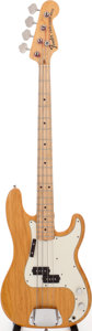 Musical Instruments:Bass Guitars, 1973 Fender Precision Bass Blonde Electric Bass Guitar, Serial # 512834. ...