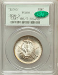 Commemorative Silver: , 1936-D 50C Texas MS66 PCGS. CAC. PCGS Population (919/319). NGCCensus: (687/265). Mintage: 9,039. Numismedia Wsl. Price fo...