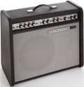 Musical Instruments:Amplifiers, PA, & Effects, 1966 Magnatone MP-1 Etsey Black Guitar Amplifier, Serial # 1650....