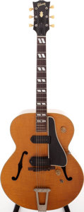 Musical Instruments:Electric Guitars, 1949 Gibson ES-300 Blonde Semi-Hollow Body Electric Guitar, Serial# A4152....