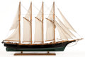 Maritime:Decorative Art, SHIP MODEL OF HMS 'FORESTER' IN FULL SAIL. A cruiser-classbrig-sloop commissioned in 1806 and active throughout theNapoleo...