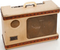 Musical Instruments:Amplifiers, PA, & Effects, Circa 1955 Gretsch Round Up Tan Guitar Amplifier, Serial # T33251....