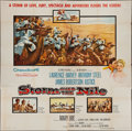 "Movie Posters:Adventure, Storm Over the Nile (Columbia, 1955). Six Sheet (79"" X 80"").Adventure.. ..."