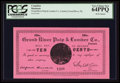 Canadian Currency: , Grand River, NL- Grand River Pulp & Lumber Co. 10¢ UNL. ...