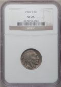 Buffalo Nickels: , 1926-S 5C VF25 NGC. NGC Census: (185/657). PCGS Population(144/796). Mintage: 970,000. Numismedia Wsl. Price for problem f...