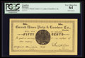 Canadian Currency: , Grand River, NL- Grand River Pulp & Lumber Co. 50¢ UNL. ...