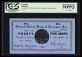 Canadian Currency: , Grand River, NL- Grand River Pulp & Lumber Co. 25¢ UNL. ...