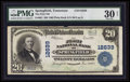 National Bank Notes:Tennessee, Springfield, TN - $20 1902 Plain Back Fr. 661 The First NB Ch. #12639. ...