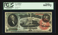 Large Size:Legal Tender Notes, Fr. 42 $2 1869 Legal Tender PCGS Gem New 66PPQ.. ...