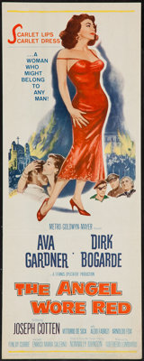 "The Angel Wore Red (MGM, 1960). Insert (14"" X 36""). War"