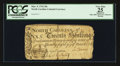 Colonial Notes:North Carolina, North Carolina March 9, 1754 20s PCGS Apparent Very Fine 25.. ...