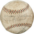 Autographs:Baseballs, Circa 1926 Babe Ruth Signed Baseball with PhiladelphiaAthletics....