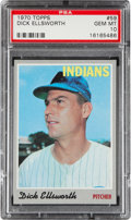 Baseball Cards:Singles (1970-Now), 1970 Topps Dick Ellsworth #59 PSA Gem Mint 10....