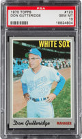Baseball Cards:Singles (1970-Now), 1970 Topps Don Gutteridge #123 PSA Gem Mint 10....