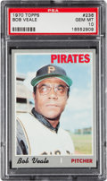 Baseball Cards:Singles (1970-Now), 1970 Topps Bob Veale #236 PSA Gem Mint 10....